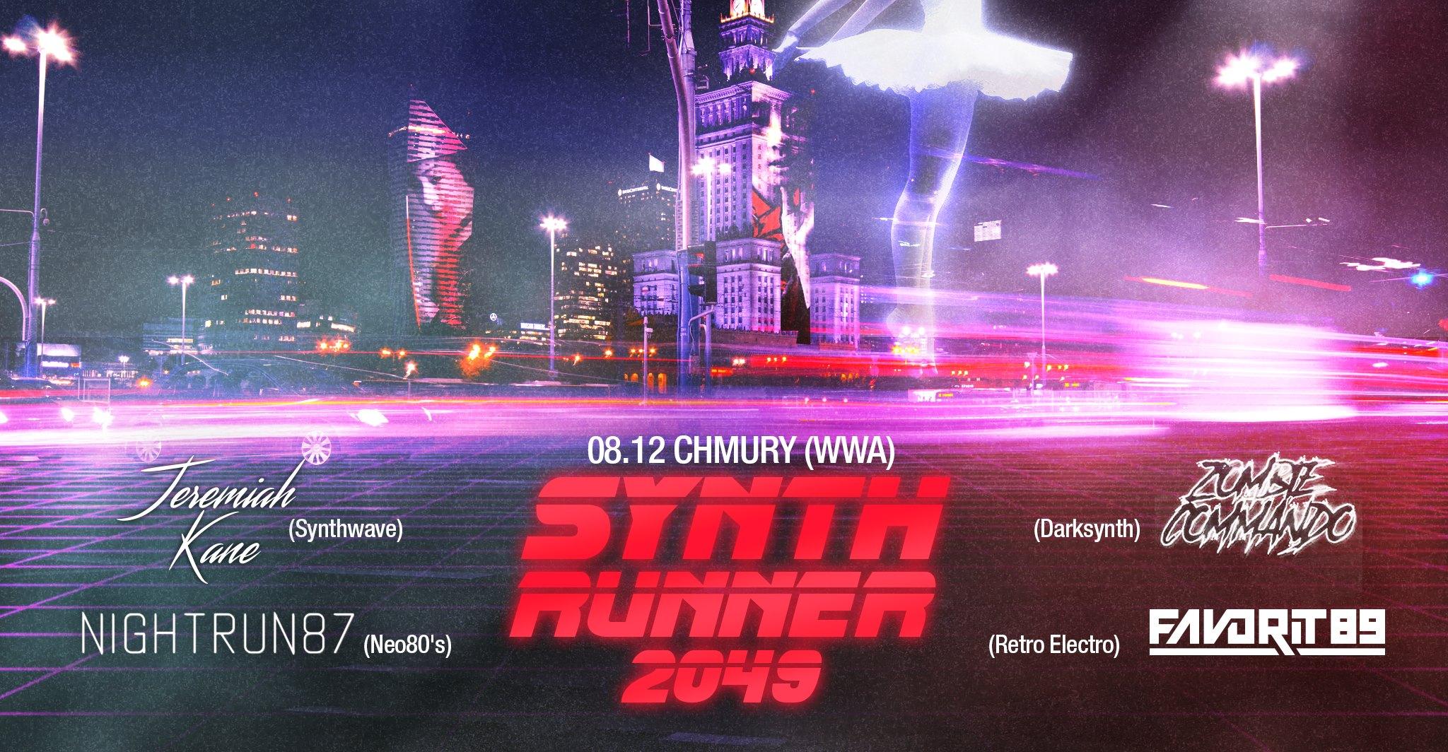 SynthRunner 2049 (Chmury - Warszawa - 08.12.2017)
