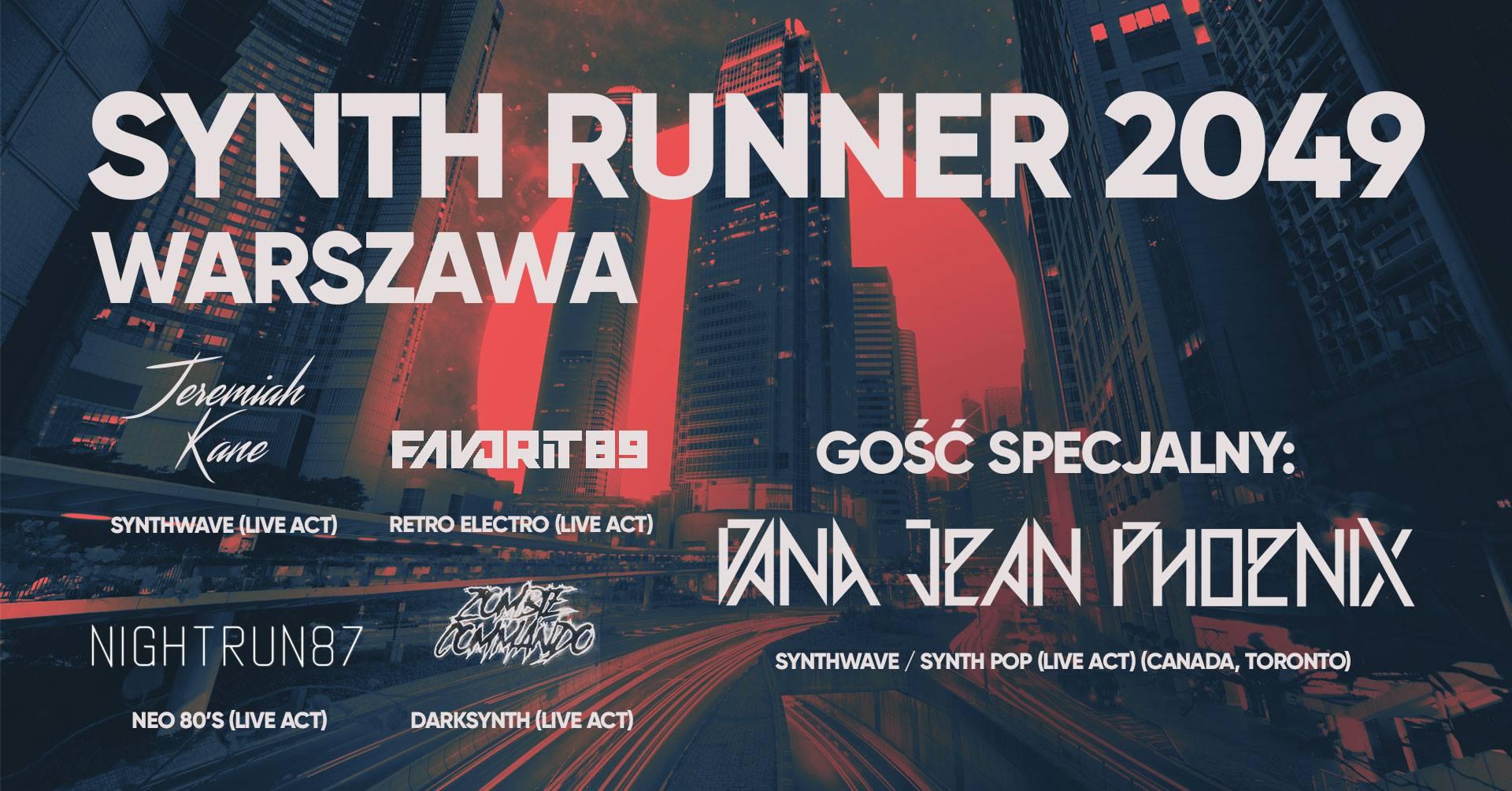 Synth Runner 2049 (Chmury - Warszawa - 17.03.2018)