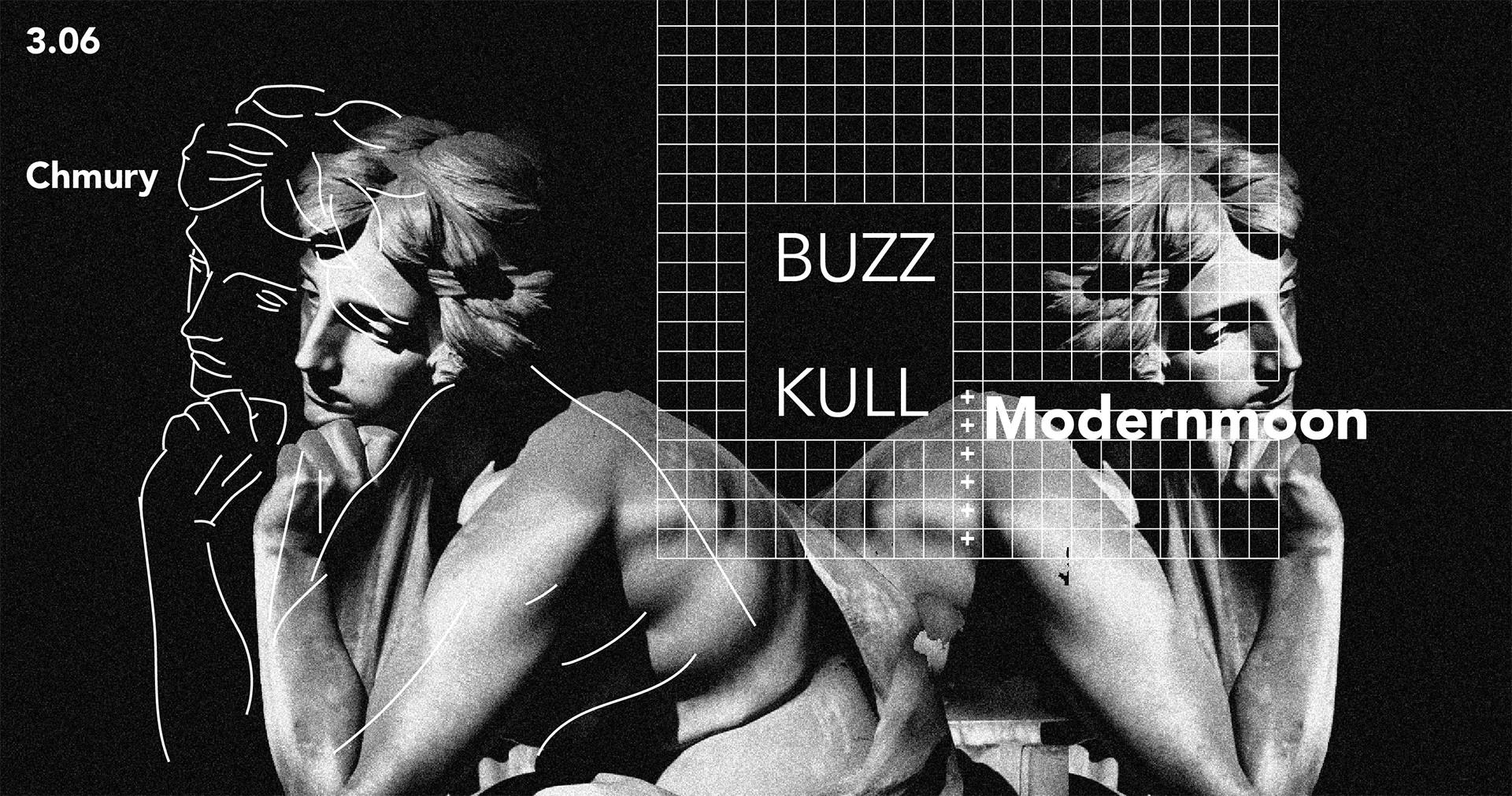 Buzz Kull i Modernmoon - Chmury - Warszawa - 03.06.2018