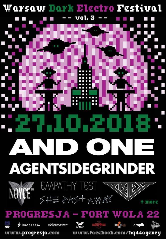Warsaw Dark Electro Festival Vol.3 - Progresja - Warszawa - 27.10.2018