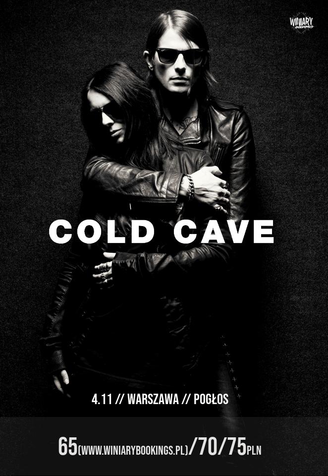 Cold Cave - Choir Boy (Warszawa - Pogłos - 04.11.2018)