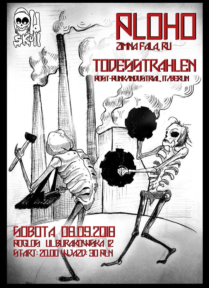 Ploho - Todesstrahlen (Pogłos - Warszawa - 08.09.2018)
