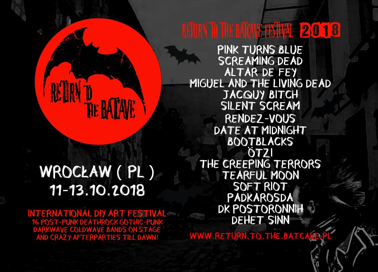 Return To The Batcave Festival 2018