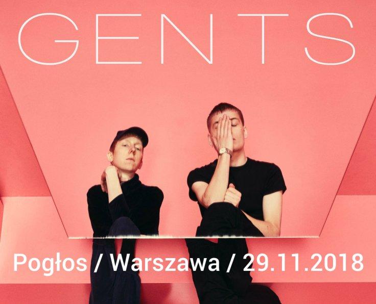 Gents - Pogłos - Warszawa - 29.11.2018