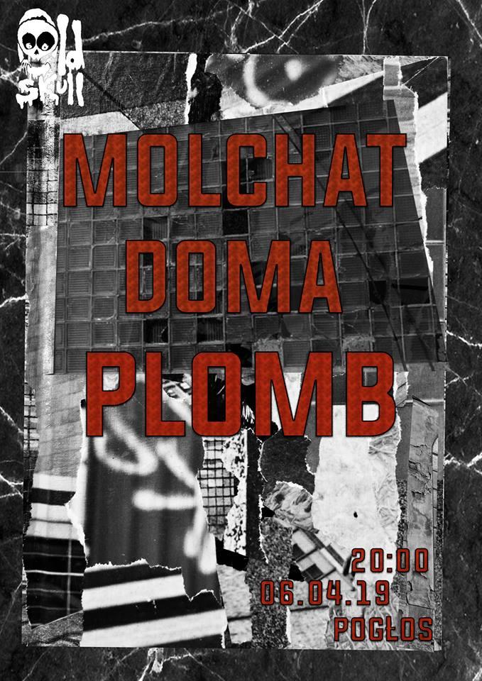 Molchat Doma - Plomb (Pogłos - Warszawa - 06.04.2019)