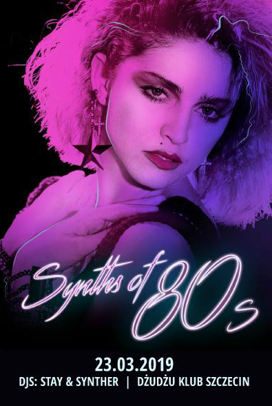 Synths of 80s (Dżudżu - Szczecin - 23.03.2019)