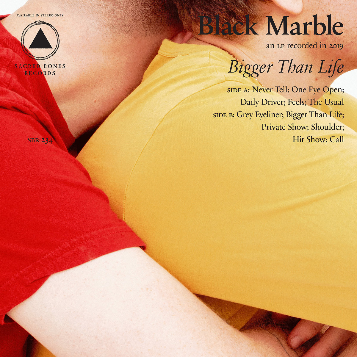Black Marble - Bigger Than Life (LP; 2019)