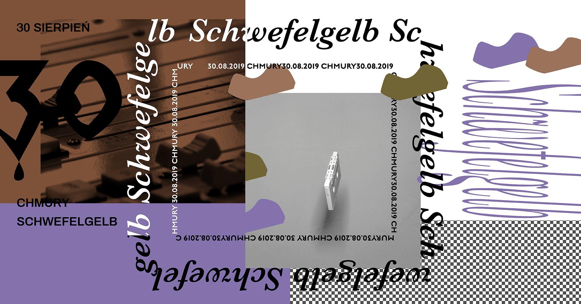Schwefelgelb - Syntetyk - I Letzte Nacht I (30.08.2019 - Chmury - Warszawa)