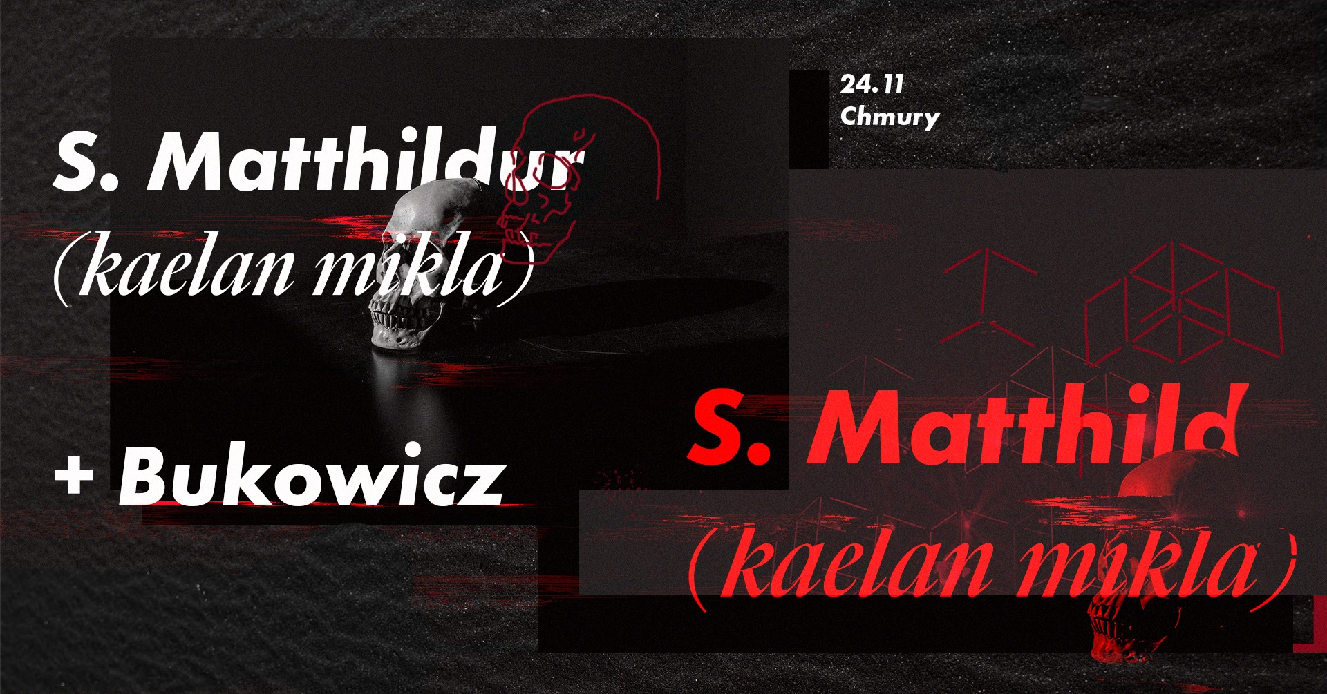 Sólveig Matthildur - Bukowicz (Chmury - Warszawa - 24.11.2019)