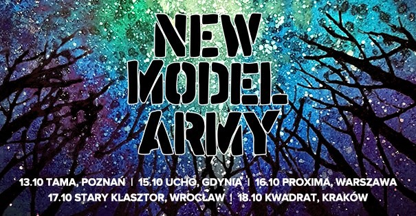 New Model Army - koncerty w Polsce 2019
