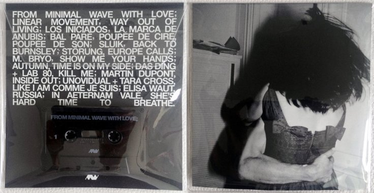 From Minimal Wave With Love - okładka i kaseta magnetofonowa