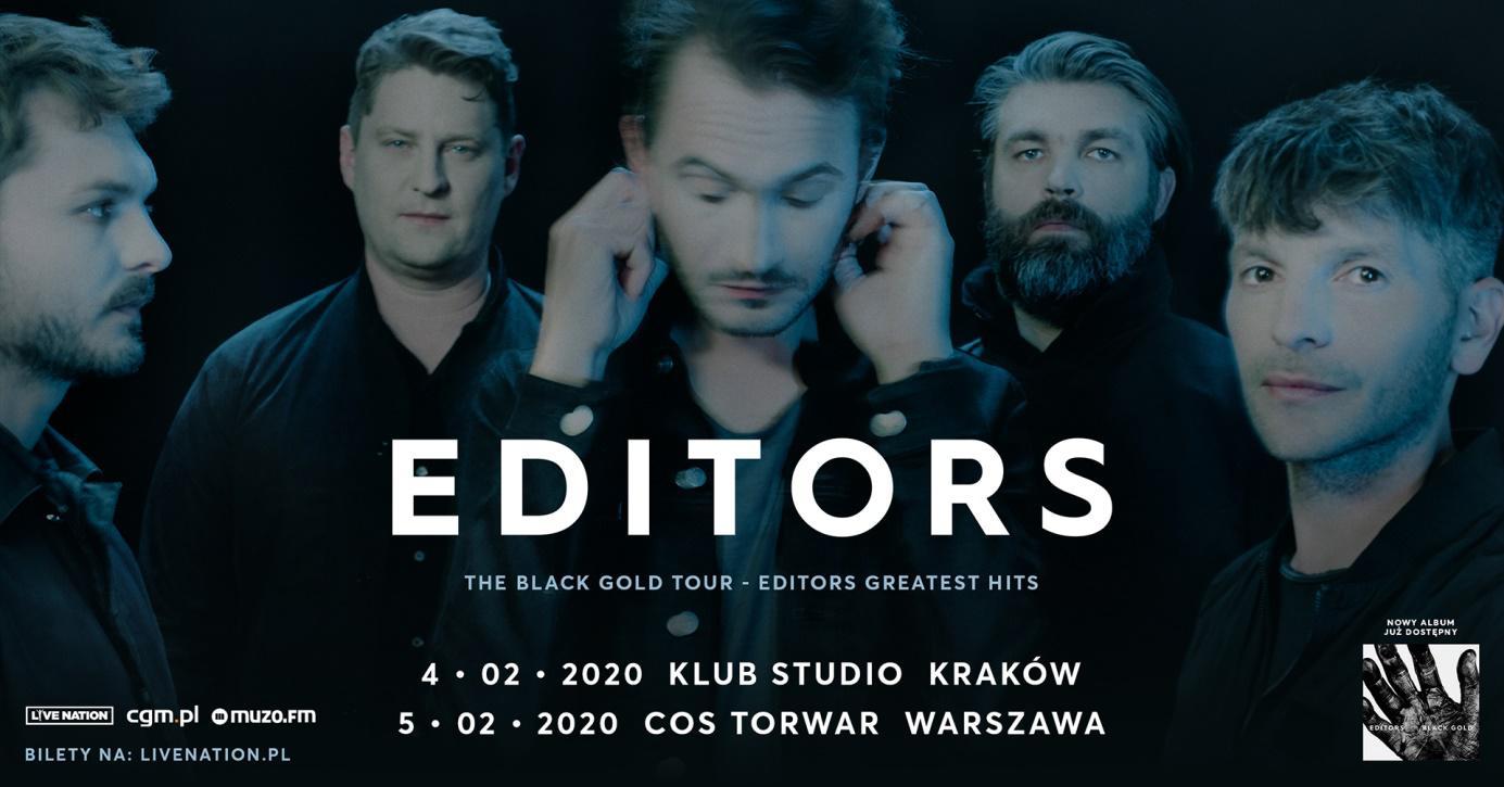 Editors i Whispering Sons na dwóch koncertach w Polsce