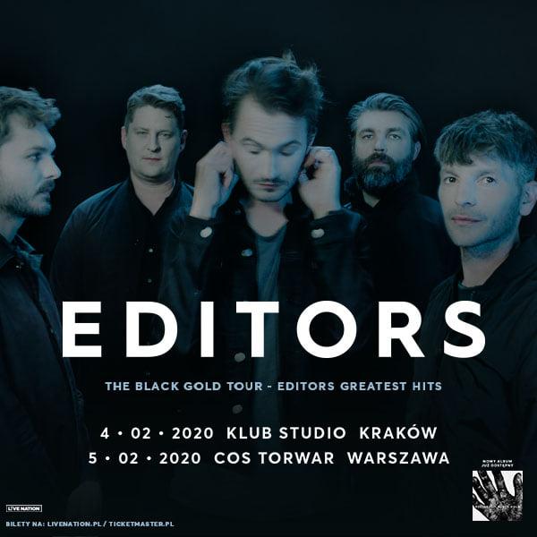 Editors - koncerty (04-05.02.2020)