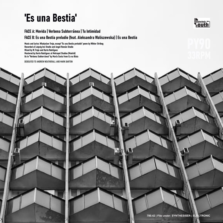 Wladyslaw Trejo - Es una Bestia (EP, 2020 - back)