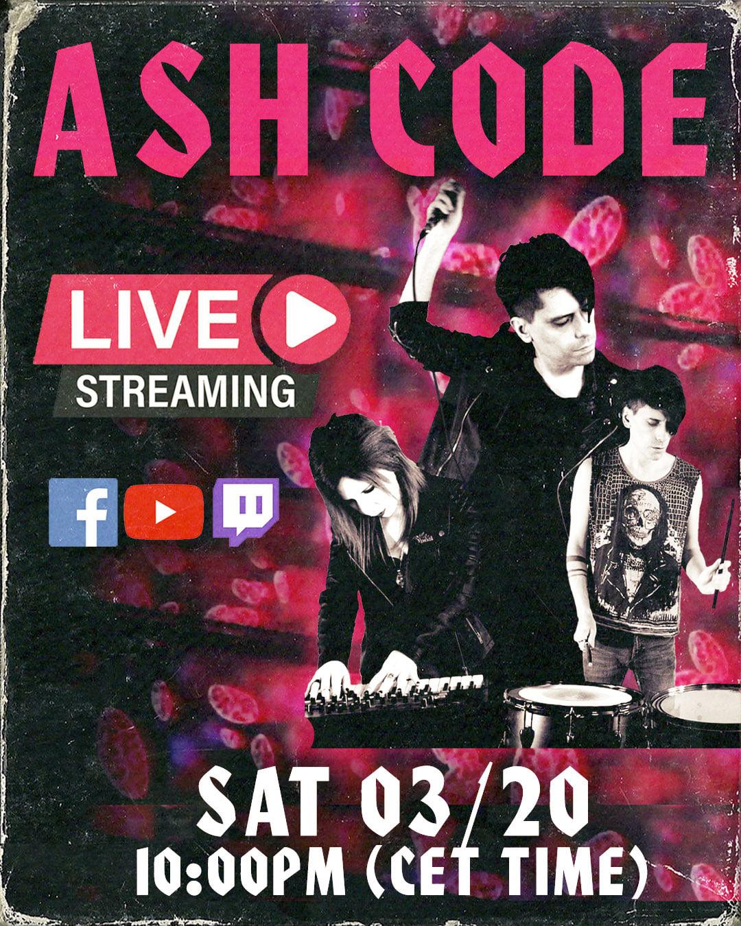 Ash Code - 20.03.2021