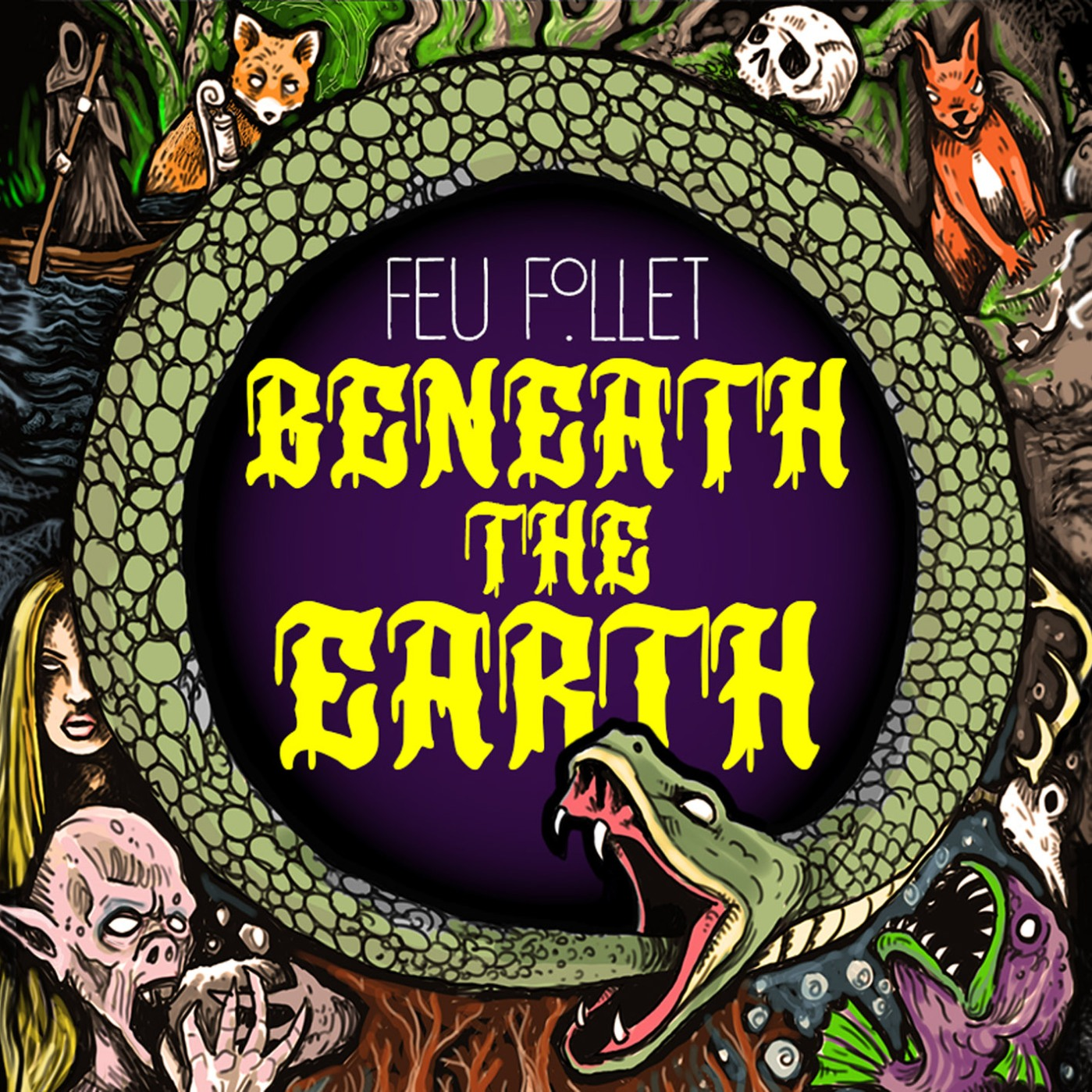 Feu Follet - Beneath The Earth (LP, 2021)