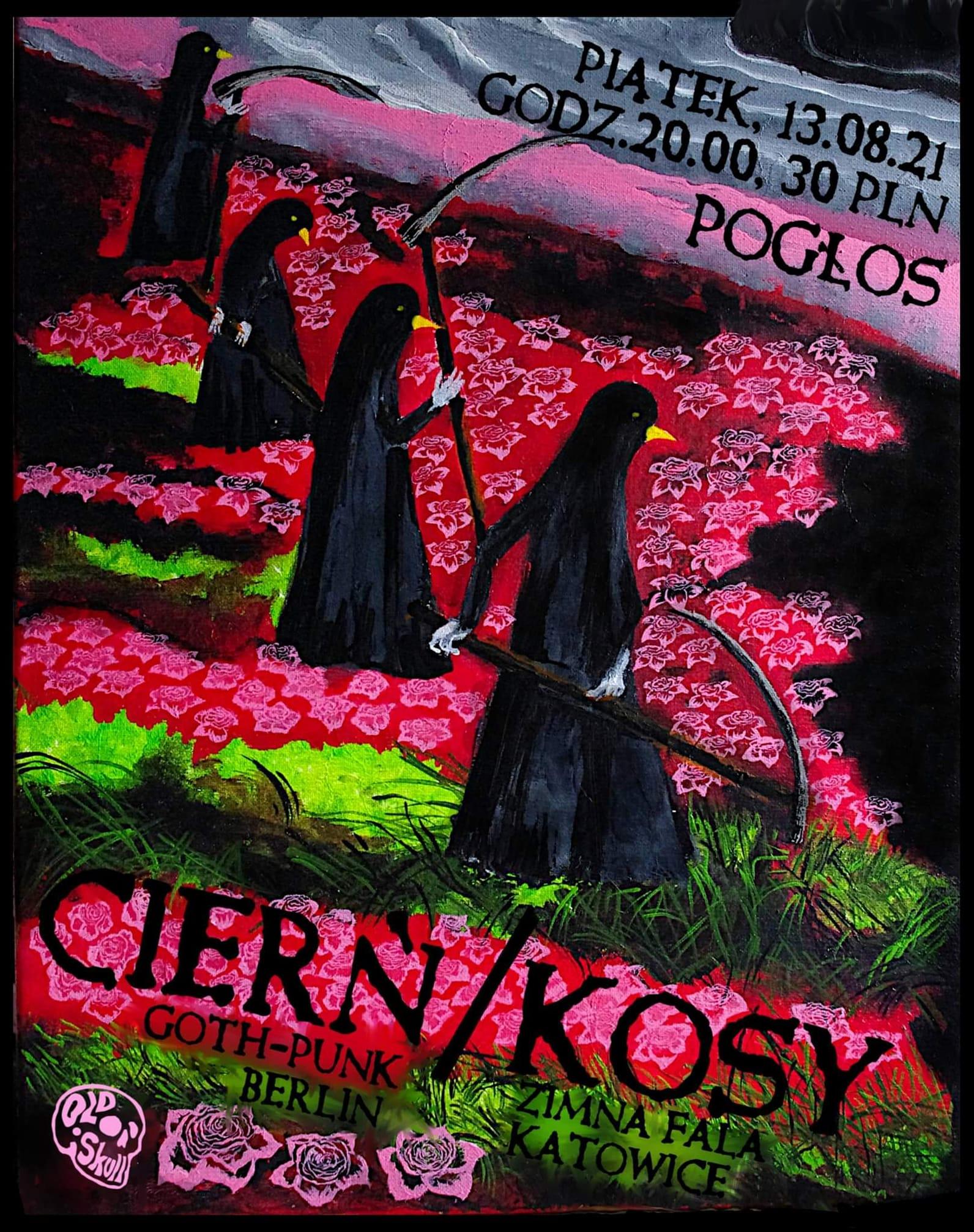 Old Skull - Cierń - Kosy (Pogłos. Warszawa, 13.08.2021)